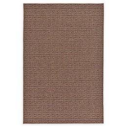 Unique Loom Links Indoor/Outdoor Rug in Brown