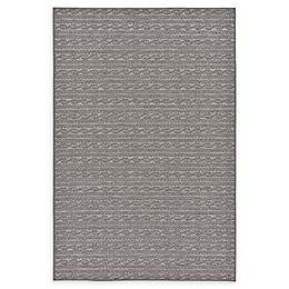 Unique Loom Links Indoor/Outdoor Rug in Grey