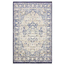 Unique Loom Lexington Turin Rug in Blue
