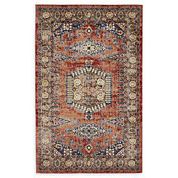 Unique Loom Larissa Arcadia Rug in Terracotta