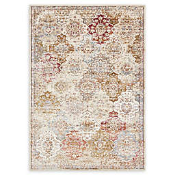 Unique Loom Lexington Vern Rug in Beige