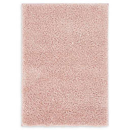 Unique Loom Calabasas Solo 2'2 x 3' Power-Loomed Accent Rug in Pink