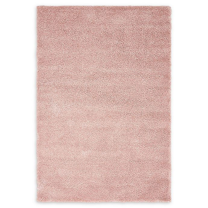 Alternate image 1 for Unique Loom Calabasas Solo Power-Loomed Rug in Pink