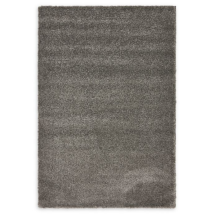 Alternate image 1 for Unique Loom Calabasas Solo 5' x 8' Power-Loomed Area Rug in Grey