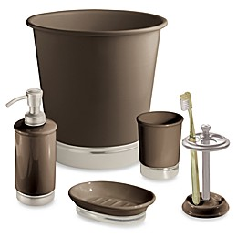 iDesign™ York Matte Brown Bath Ensemble