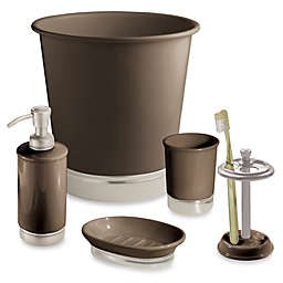 iDesign™ York Matte Brown Bath Accessory Collection