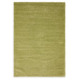 Unique Loom Calabasas Solo Power-Loomed Rug in Light Green
