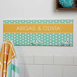 Preppy Chic 3-Position Towel Hook