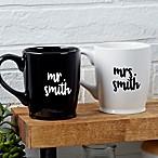 Mr. & Mrs. Wedding Coffee Mug