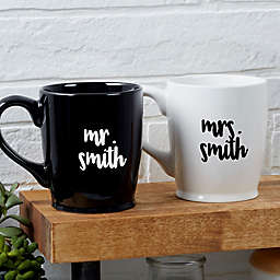 Mr. & Mrs. Wedding Coffee Mug