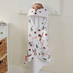 Woodland Adventure Deer Hooded Towel