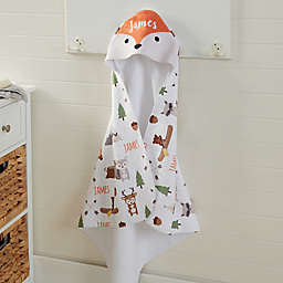 Woodland Adventure Fox Hooded Towel