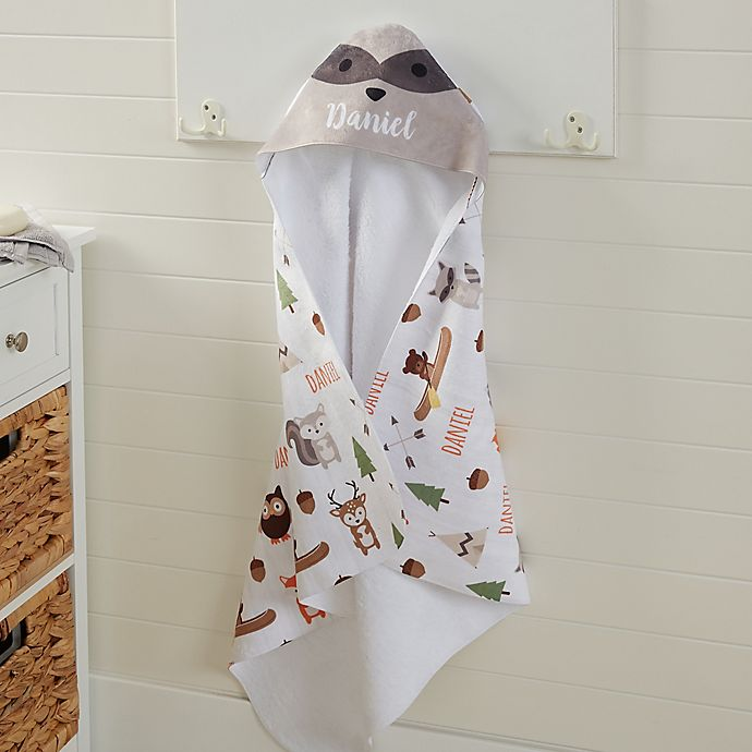 Baby Aspen Utterly Adorable Hooded Spa Towel White