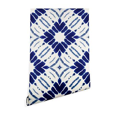 Deny Designs Jacqueline Maldonado Water Shibori Peel and Stick Wallpaper