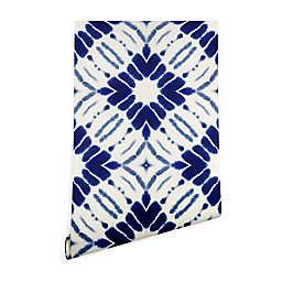 Deny Designs Jacqueline Maldonado Water Shibori 2-Foot x 10-Foot Peel & Stick Wallpaper