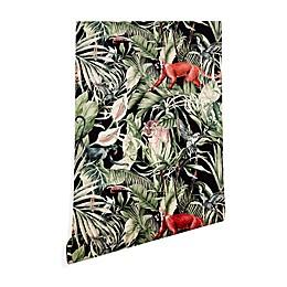Deny Designs Marta Barragan Camarasa Dark of Jungle Peel and Stick Wallpaper
