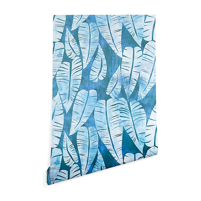 Alternate image 1 for Deny Designs Schatzi Brown Island Goddess 2-Foot x 8-Foot Peel and Stick Wallpaper in Turquoise