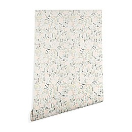 Deny Designs Iveta Abolina Floral Goodness Peel and Stick Wallpaper in Beige