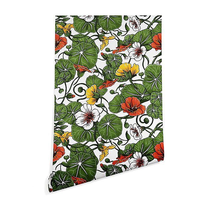 Alternate image 1 for Deny Designs Marta Barragan Camarasa Flowering Garden 2-Inch x 8-Inch Peel and Stick Wallpaper