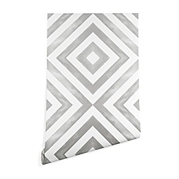 Deny Designs Little Arrow Design Co Diamonds Peel and Stick Wallpaper