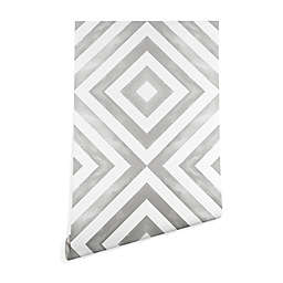 Deny Designs Little Arrow Design Co Diamonds Peel and Stick Wallpaper