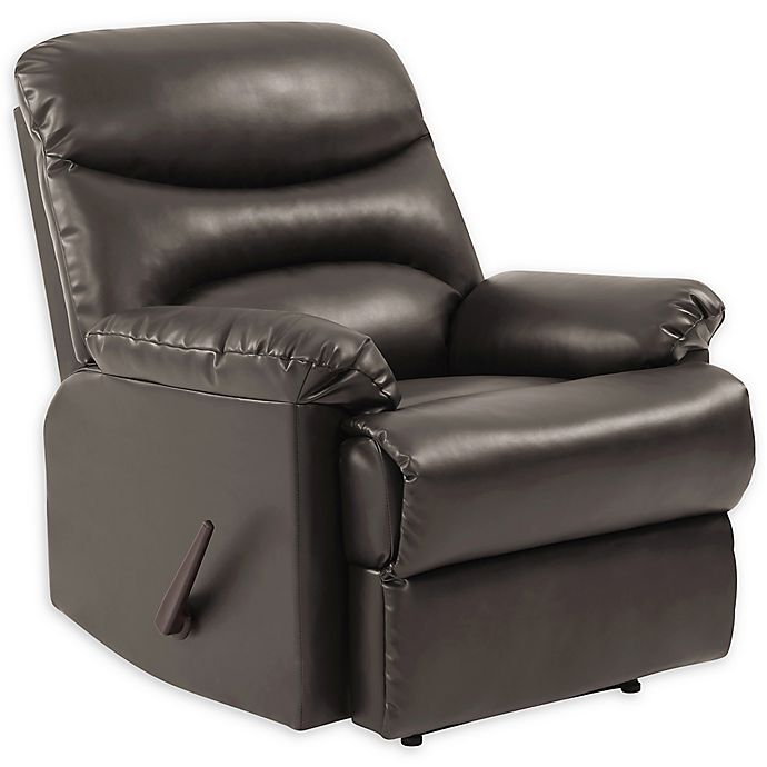 Prolounger 174 Wall Hugger Renu Leather Recliner Bed Bath