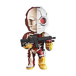 4D Master 4D XXRAY Dissected DC Justice League Comics Deadshot Vinyl Art Figure