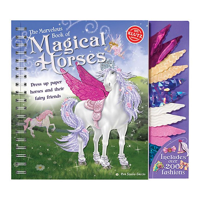 Alternate image 1 for Klutz® The Marvelous Book of Magical Horses