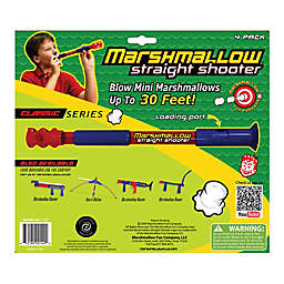 Marshmallow Fun Company 4-Pack Classic Straight Shooter