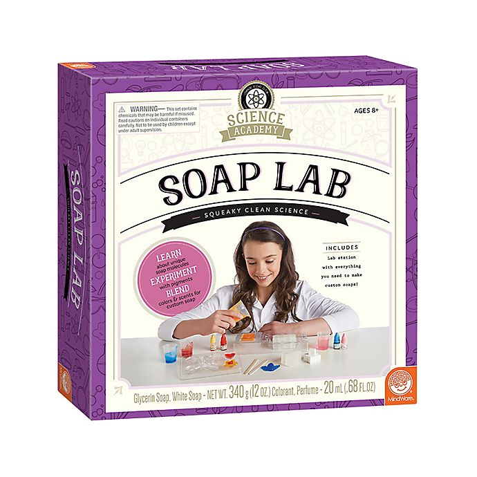 Alternate image 1 for MindWare Science Academy Soap Lab