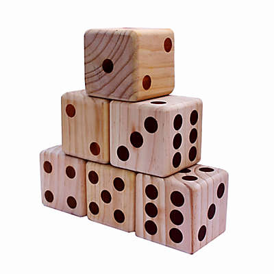 Bolaball Giant Wood Dice Game