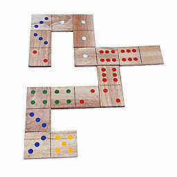 Bolaball Giant Wood Dominoes Game