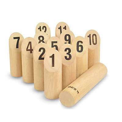 Bolaball Wood Number Kubb Game