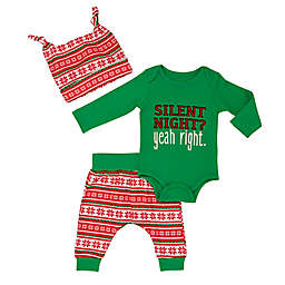 Baby Starters® 3-Piece Silent Night Bodysuit, Pant, and Hat Set