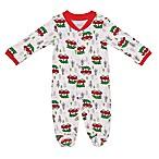 Baby Starters® Newborn Holiday Sleep 'n Play Footie in White