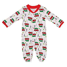 Baby Starters® Holiday Sleep 'n Play Footie in White