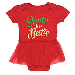 Baby Starters® Santa Bestie Bodysuit in Red