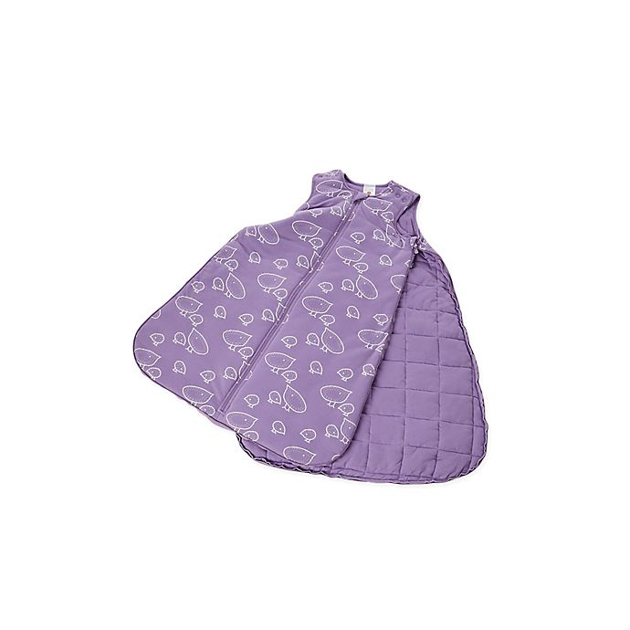 Alternate image 1 for Gunapod® Adjustable Wearable Blanket with WONDERZiP® in Lavender Baby Chics