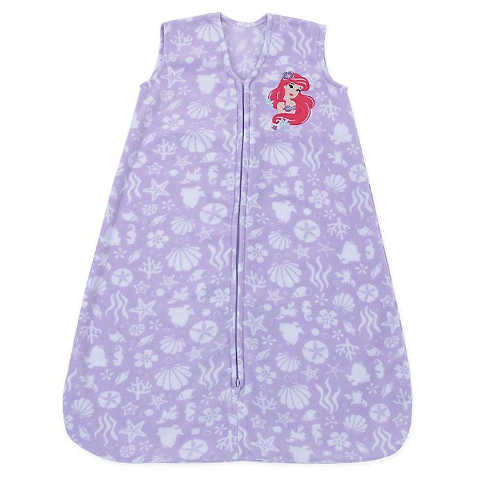 Alternate image 1 for Disney® Size 6-12M Ariel Wearable Blanket in Lavender