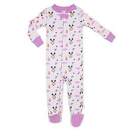 Rosie Pope® Floral Reindeer Snug-Fit Pajama in Purple