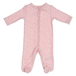 Sterling Baby Preemie Star Footie in Pink