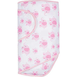 Miracle Blanket® Swaddle in Pink Elephants