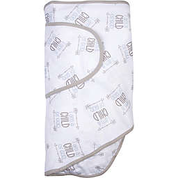 Miracle Blanket® Child Of God Swaddle in Grey