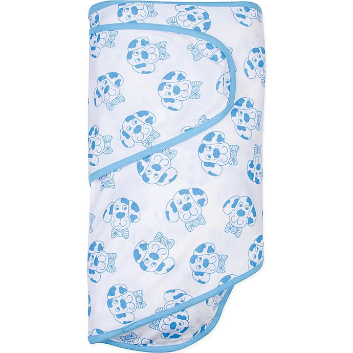 Miracle Blanket Baby Swaddle Bowtie Dog