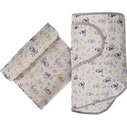 Miracle Blanket® Forest Owl Swaddle in Grey