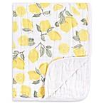 Hudson Baby® Tranquility Lemons Muslin Blanket in Yellow