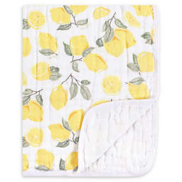 Hudson Baby® Tranquility Lemons Muslin Blanket in Yellow