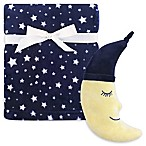 Hudson Baby® 2-Piece Moon Plush Blanket and Toy Set in Yellow