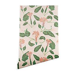 Deny Designs Holli Zollinger Desert Moonflower 2-Foot x 8-Foot Peel and Stick Wallpaper