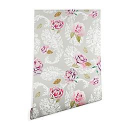 Deny Designs Marta Barragan Camarasa Floral Paisley Peel and Stick Wallpaper